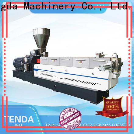 TENGDA Latest double screw extruder company for plastic