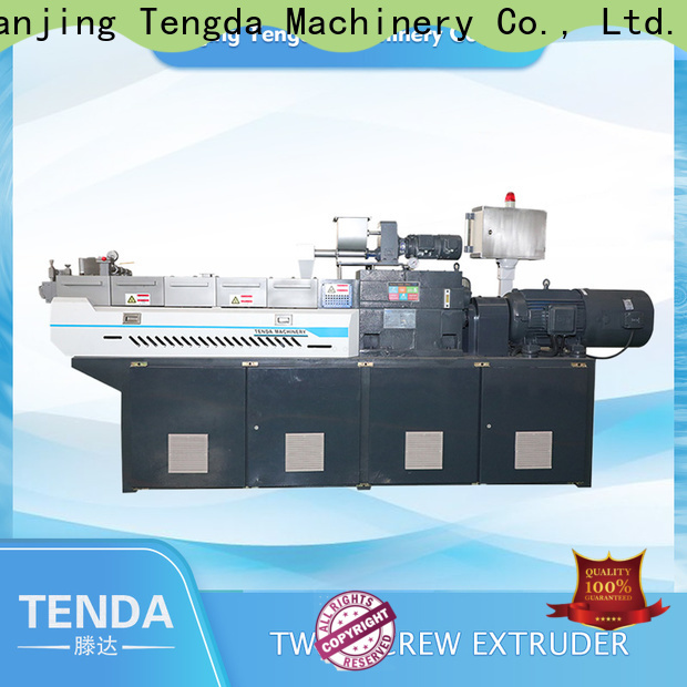 TENGDA New lab extruder for sale manufacturers for plastic
