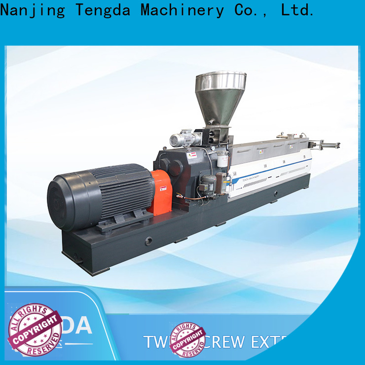 Latest twin screw food extruder company for plastic