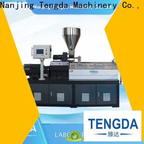 TENGDA pp film extruder factory for PVC pipe
