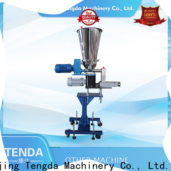 TENGDA screw feeder manufacturers company for clay