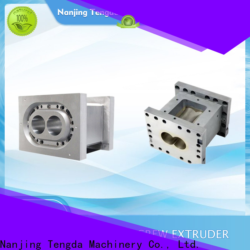 TENGDA Latest plastic extruder parts manufacturers for clay