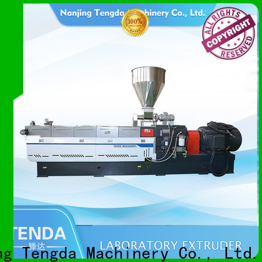 TENGDA Latest twin screw extrusion machine for business for plastic