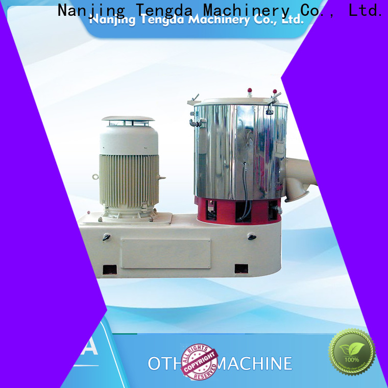 TENGDA twin screw feeder manufacturers for PVC pipe