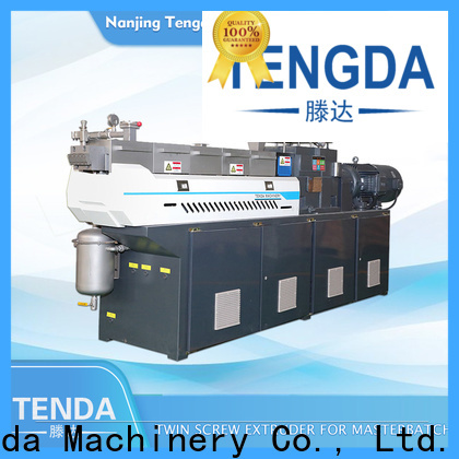 Custom laboratory twin screw extruder supply for plastic