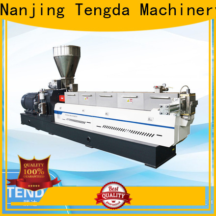TENGDA twin screw food extruder company for food