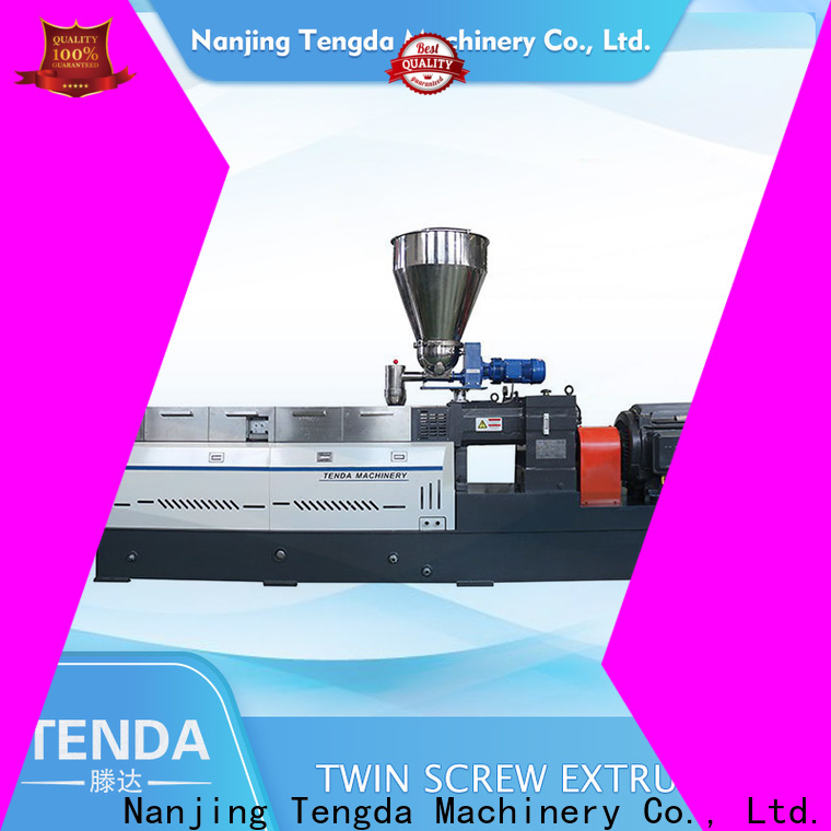 TENGDA New pipe extrusion machine supply for clay