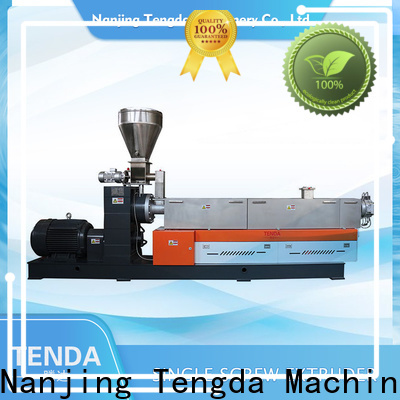 TENGDA single screw extruder machine for business for food