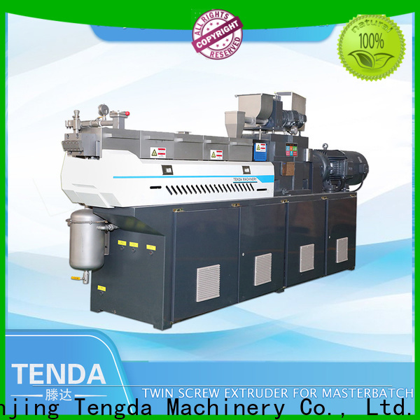 TENGDA laboratory extruder price supply for plastic