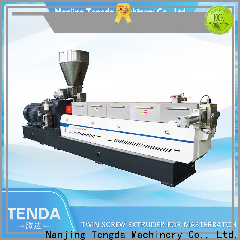 TENGDA Latest twin screw food extruder factory for PVC pipe