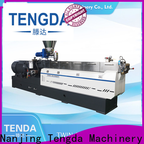 TENGDA Custom plastic extruder factory for plastic