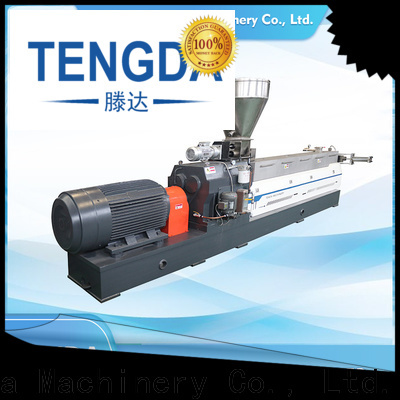 TENGDA steer twin screw extruder manufacturers for plastic