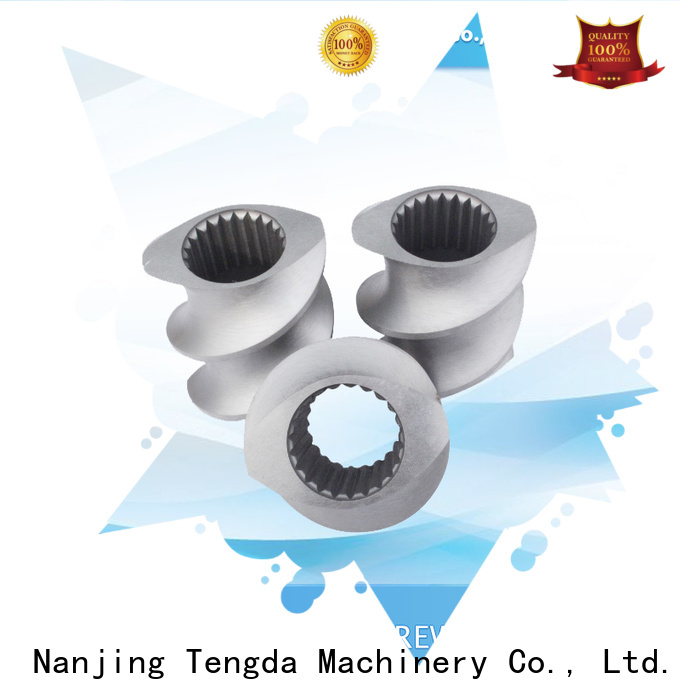 Custom parts of extruder company for PVC pipe