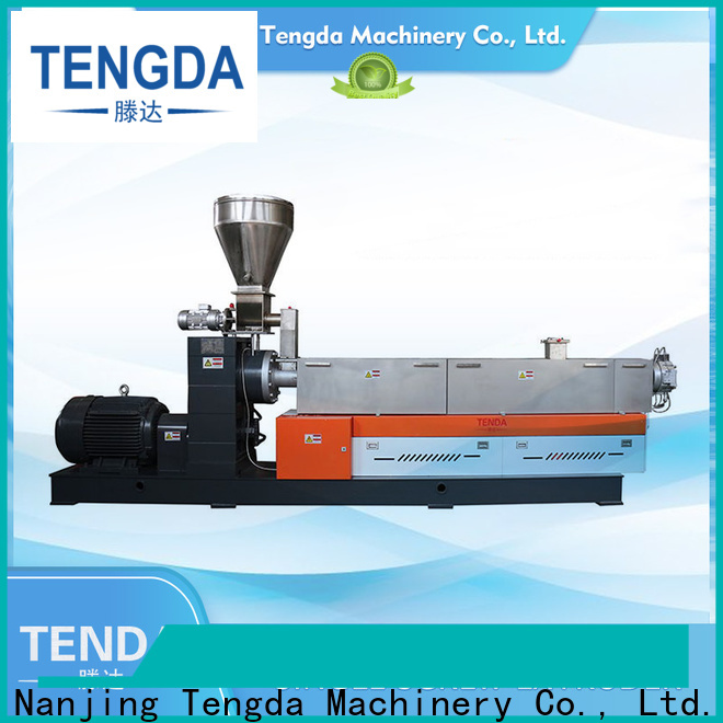 TENGDA New single extruder supply for PVC pipe