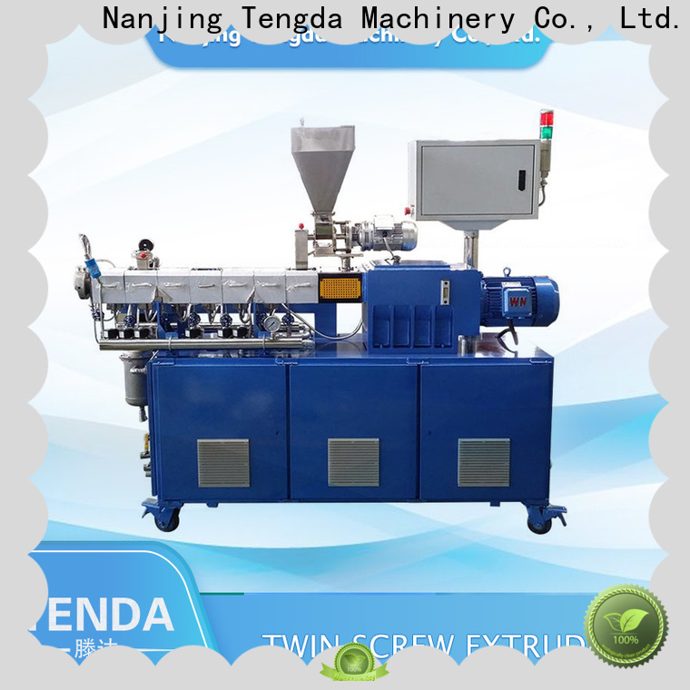 TENGDA Custom lab scale extruder company for PVC pipe