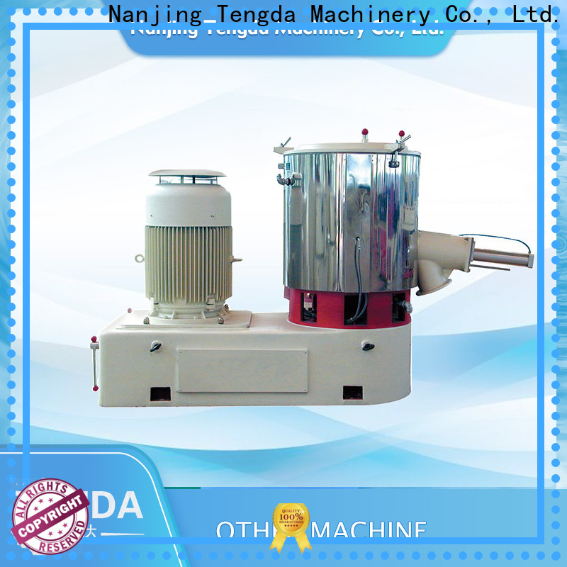 TENGDA small screw feeder supply for PVC pipe