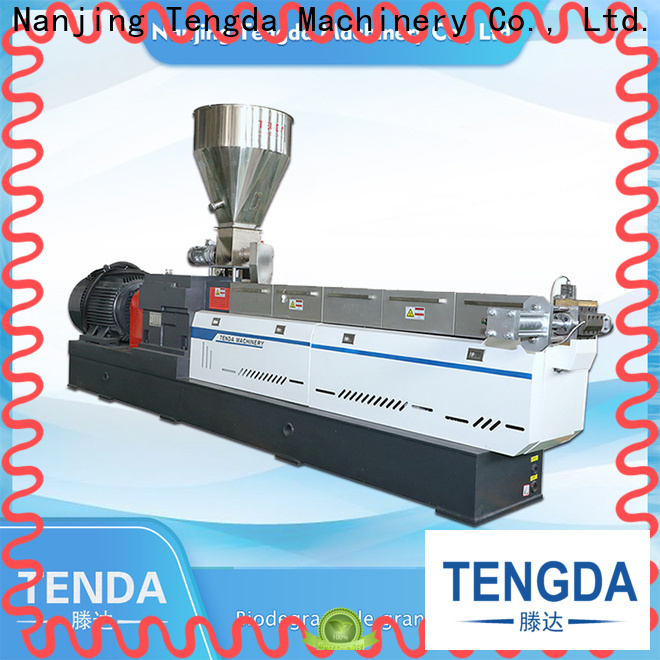 TENGDA Latest recycling extruder machine manufacturers for PVC pipe