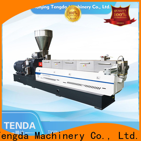 Latest twin screw rubber extruder company for food
