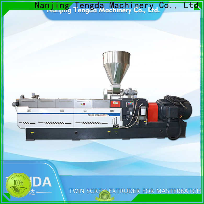 TENGDA Custom twin screw rubber extruder suppliers for food