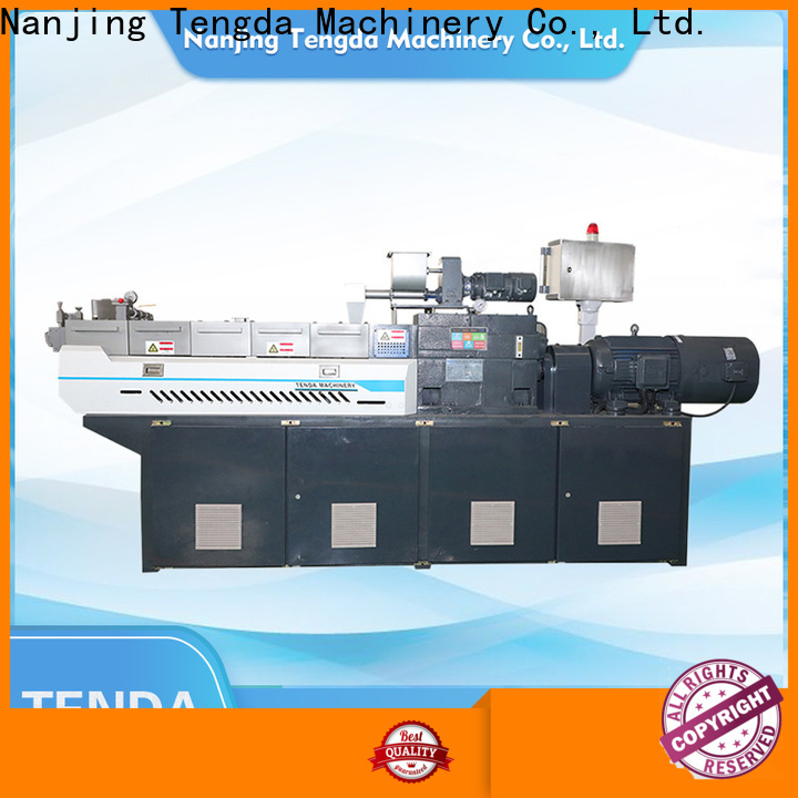 TENGDA Wholesale lab scale twin screw extruder manufacturers for plastic