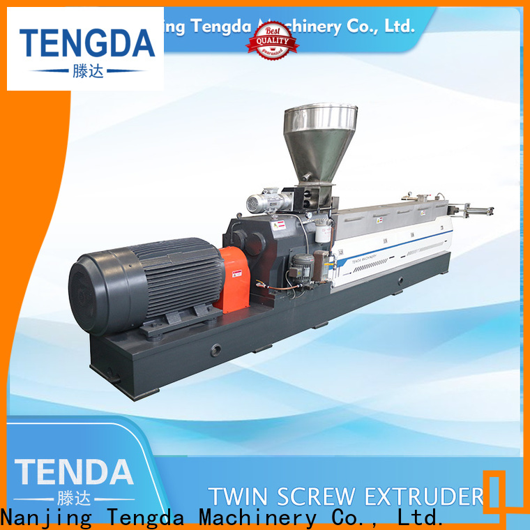 Top twin screw food extruder for business for plastic