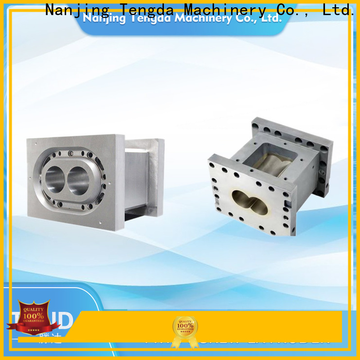 TENGDA plastic extruder parts suppliers for plastic