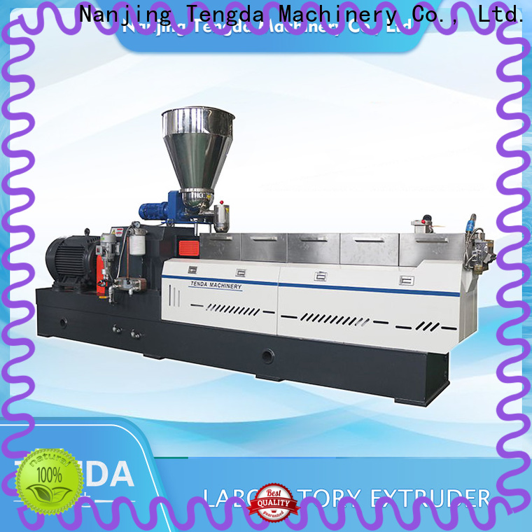 TENGDA Custom twin screw food extruder for business for PVC pipe