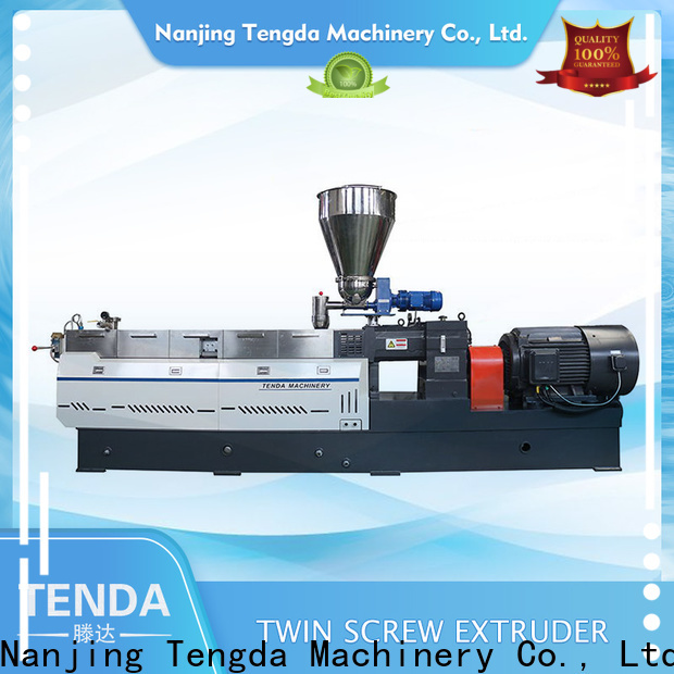 TENGDA wenger extruder for business for PVC pipe