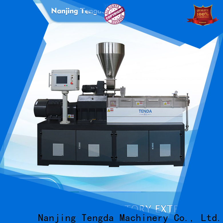 TENGDA laboratory extruder price suppliers for PVC pipe