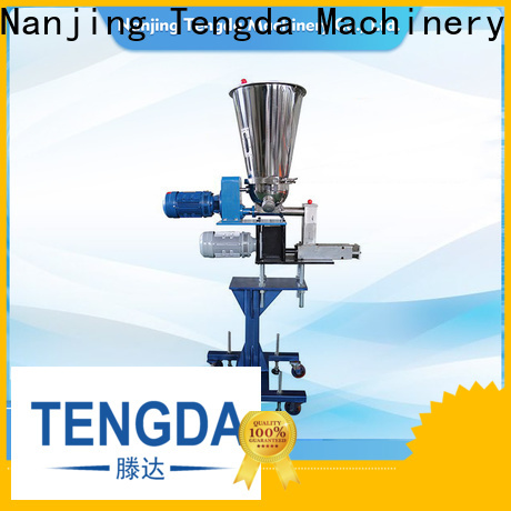 TENGDA auto screw feeder supply for PVC pipe