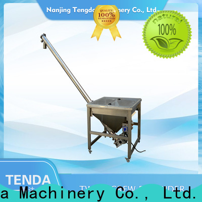 TENGDA Latest small screw feeder company for food