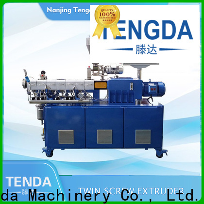 TENGDA lab scale twin screw extruder factory for plastic