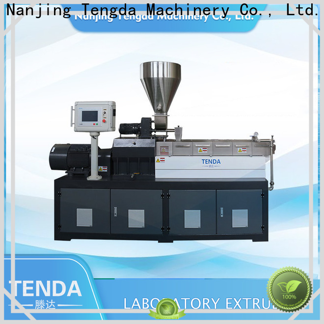 TENGDA Latest laboratory twin screw extruder suppliers for PVC pipe