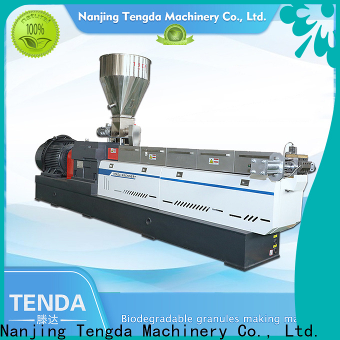 TENGDA polypropylene extruders for business for food