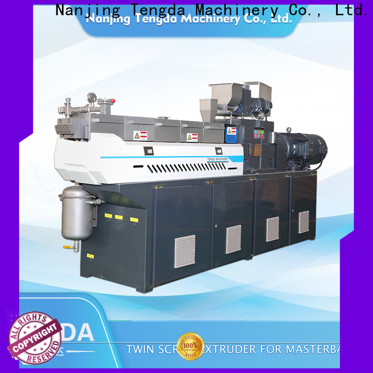 TENGDA Best laboratory twin screw extruder for business for clay