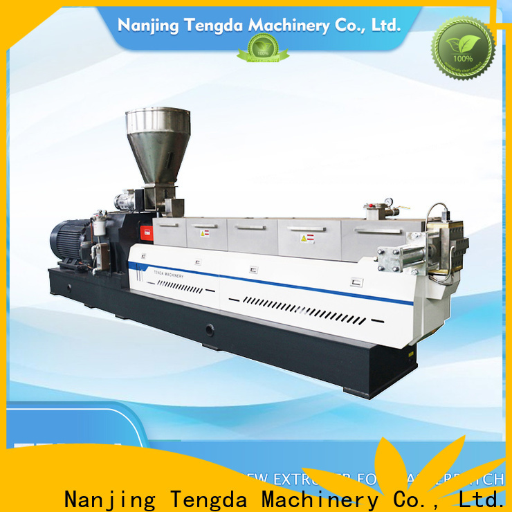 TENGDA tsh-plus twin screw extruder supply for plastic