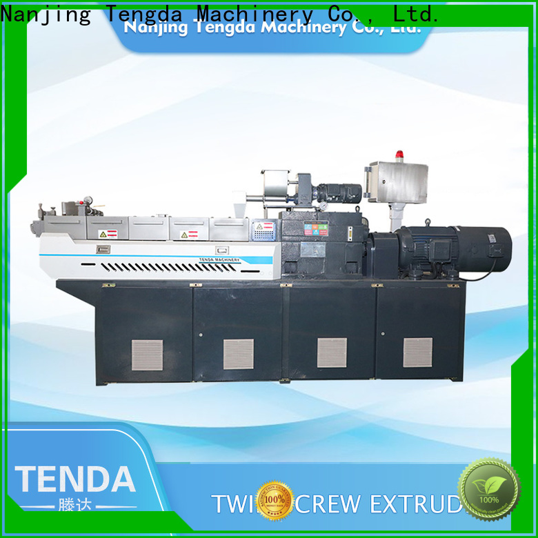 TENGDA lab scale twin screw extruder company for clay