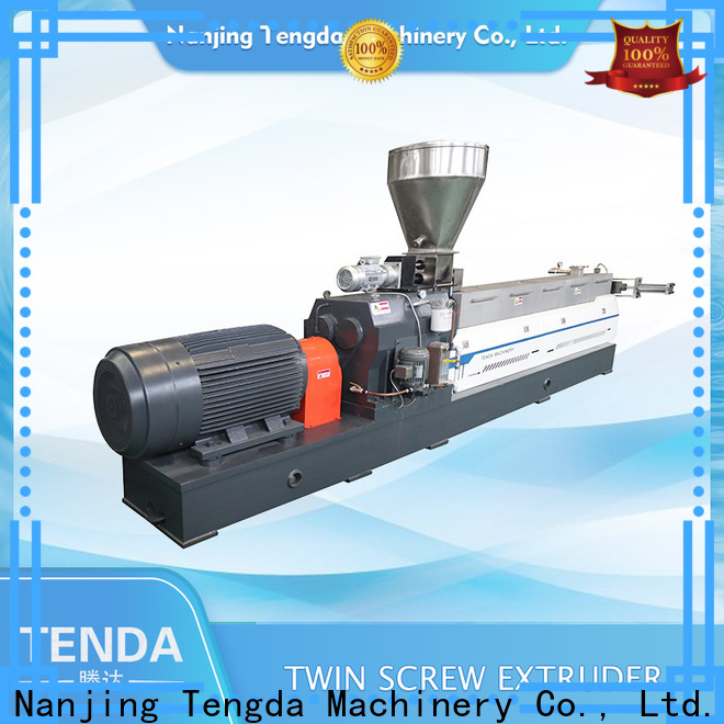 TENGDA double screw extruder factory for clay