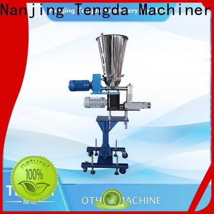TENGDA twin screw side feeder company for clay