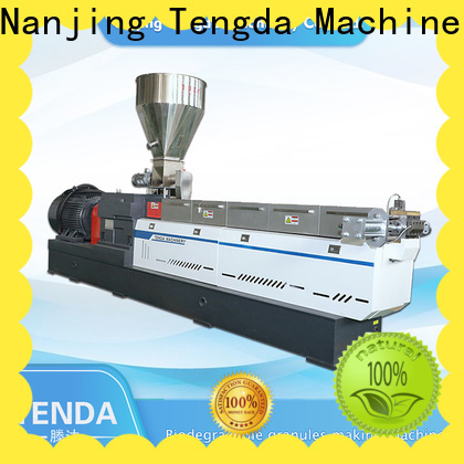 TENGDA Wholesale pe pipe extrusion line manufacturers for plastic