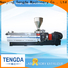 Latest waste plastic extruder company for clay