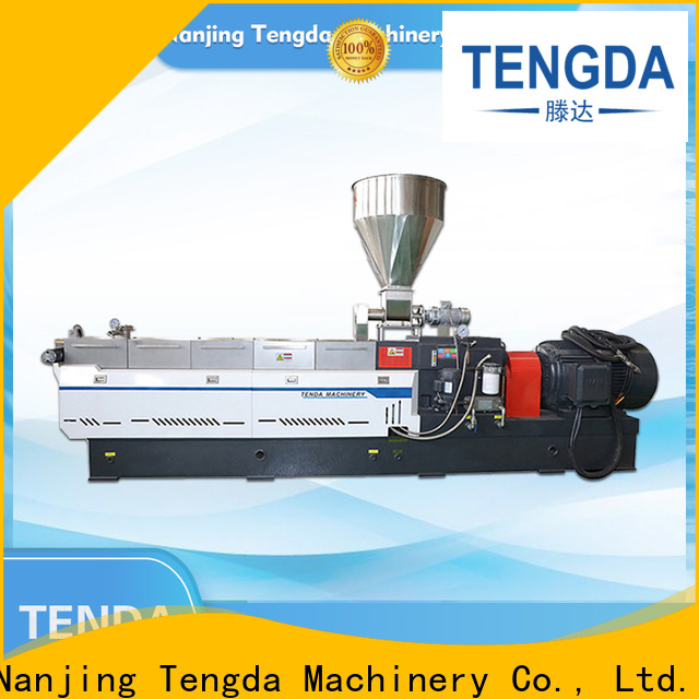 TENGDA twin screw food extruder factory for clay