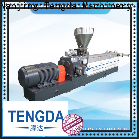 TENGDA Wholesale buy twin screw extruder company for food