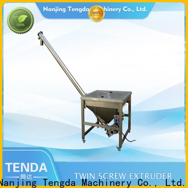 TENGDA Top plastic pelletizer suppliers for food