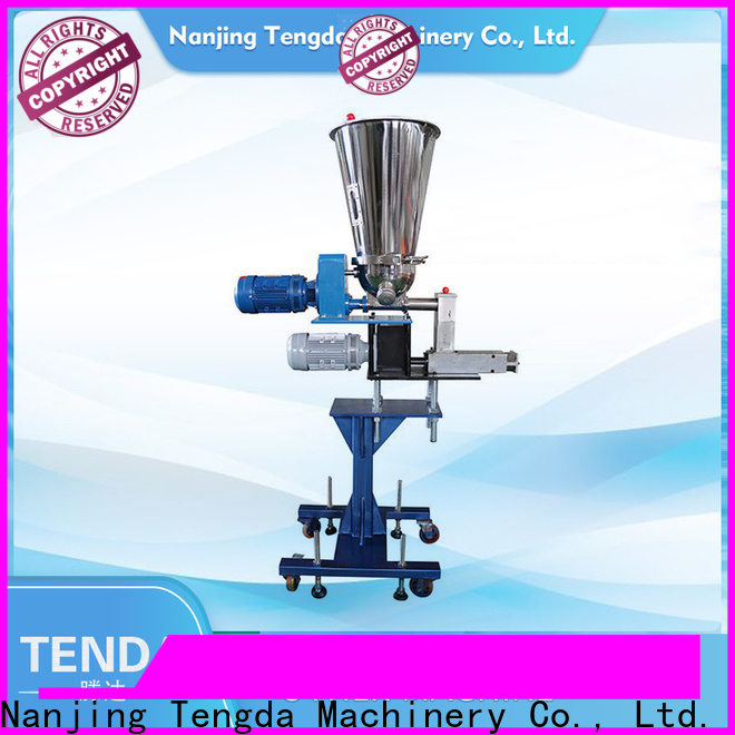 TENGDA Top small screw feeder supply for plastic