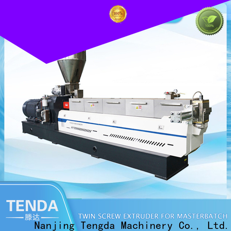 TENGDA Custom multi screw extruder factory for clay