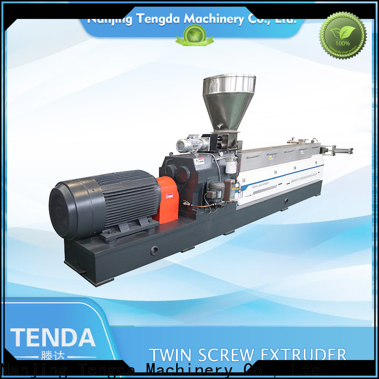 TENGDA steer twin screw extruder suppliers for plastic