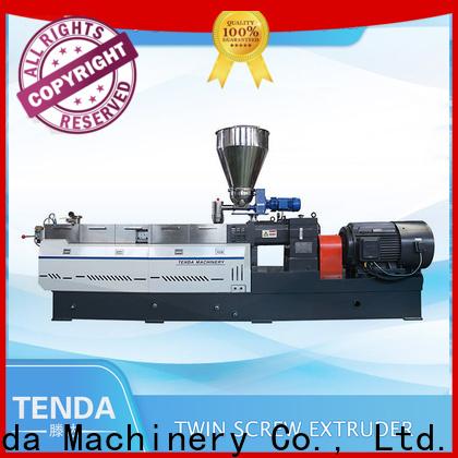 TENGDA Custom pipe extrusion machine company for food