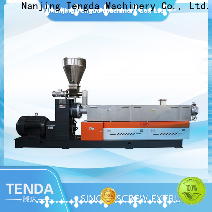TENGDA Latest extrusion machine diagram factory for plastic