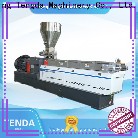 TENGDA Top plastic extrusion manufacturers factory for PVC pipe